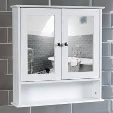 metro high gloss white tallboy wall mounted bathroom cabinet