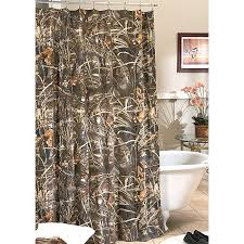 Realtree Shower Curtain Camo Bathroom Decor Realtree Max 4 Camo Shower Curtain Camo Trading