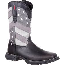 Black And White Rebel Flag Ddb0125 Rebel By Durango Faded Black Flag Western Boot