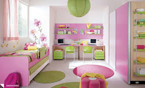 girls bedroom ideas pink and green home furniture and design ideas