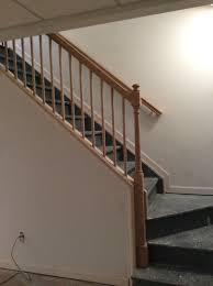 captivating basement stairs railing 26 in house decoration with