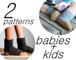 womens size 12 baby boots slippers sewing pattern sizes pdf instant