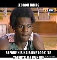 Lebron James Hairline Meme - obsev