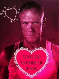 Walking Dead Valentines Day Meme - love walking dead valentine cards tumblr also walking dead