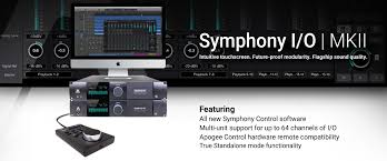 symphony i o mk ii multi channel audio interface apogee