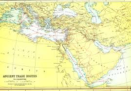 Biblical Map Of The Middle East by Biblical Maps