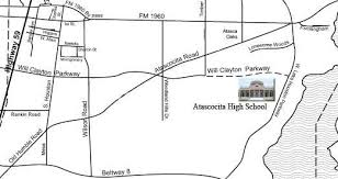 atascocita map cus information about ahs