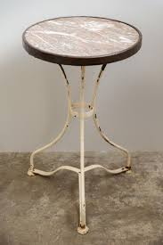 Antique Bistro Table Antique Bistro Table With Marble Top 1890s For Sale At Pamono