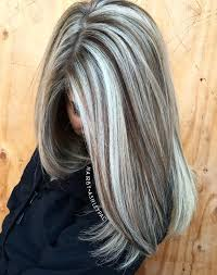 highlights for gray hair photos 40 ash blonde hair looks you ll swoon over brown highlights gray