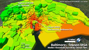 Map Of Baltimore Md Charm City Networks