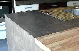 beton ciré cuisine plan travail beton cire sur carrelage de cuisine plan travail castorama newsindo