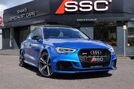 audi rs3 blue used blue audi rs3 for sale