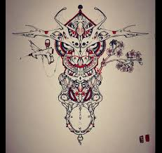 bull tattoo design by remiismeltingdots on deviantart