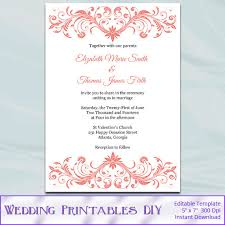 online marriage invitation card wordings blank wedding invitation templates for microsoft word
