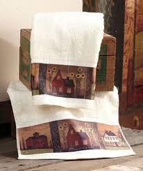 Circo Tree House Shower Curtain 17 Pc Set Primitive Country Fabric Shower Curtain Country Charm