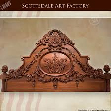 Solid Walnut Bedroom Furniture by Solid Wood Bed Inspired By Old World 1700s Designs Fr