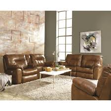 Double Reclining Sofa by Double Reclining Sofa With Two Seats By Southern Motion Wolf And