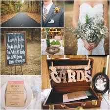 interior design cool country themed wedding reception