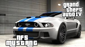 ford mustang 2014 need for speed gta iv mods ford mustang gt need for speed