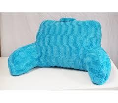 best bed rest pillow wavy plush bedrest aqua blue best bed rest