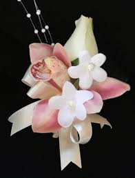 orchid corsage touch orchid tropical silk corsage made for you