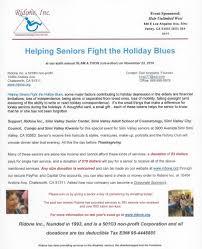 helping seniors fight the blues senior center glam a thom