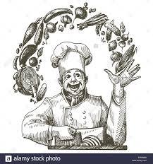 chef cook vector logo design stock photos chef cook vector logo cooking vector logo design template chef cook or kitchen icon stock image