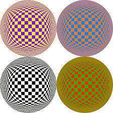 wear different be proud opposite colors illusion number 3 art