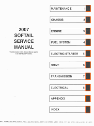 harley davidson softail service manual 2007 electrical connector