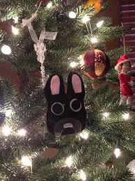the busy broad diy felt pet ornaments