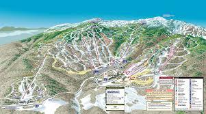 Colorado Ski Resort Map Snocountry Snow Reports Vermont Stowe
