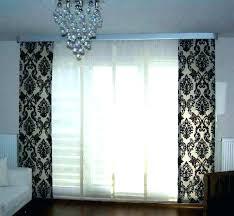 curtain ideas for sliding glass doors sliding patio door curtains curtain ideas for sliding patio doors