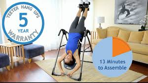inverted table for herniated disc teeter ep 560 inversion table youtube