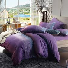 Girls Ocean Bedding by Twilight Purple And Dark Green Ocean Waves Stripe Print Girls
