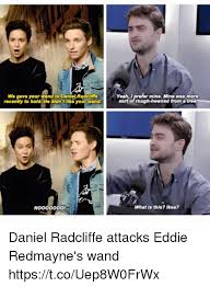 Daniel Radcliffe Meme - we gave your wand to daniel radcliffe recently to hold he didn t