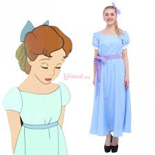peter pan wendy darling blue cosplay costume gc08 email