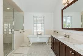 contemporary master bathroom with master bathroom by the corcoran