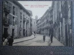 fotos antiguas eibar eibar guipuzcoa calle de don fermín calbetón po comprar postales