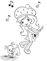 strawberry shortcake 13 coloringcolor com