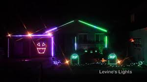Halloween Safety Lights by 2016 Halloween Light Show Heathens Youtube