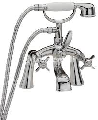 florence chrome pillar bath shower mixer and kit r r p from