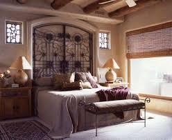 wrought iron headboard designs in mediterranean bedroom stylish