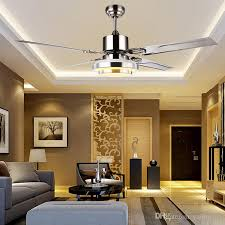 Exellent Ceiling Fan For Dining Room Modern Led Crystal Fans With - Dining room ceiling fans