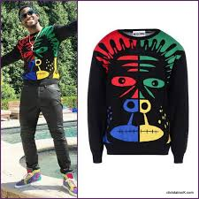 gucci mane sweater what he rock d gucci mane s moschino sleeve sweater