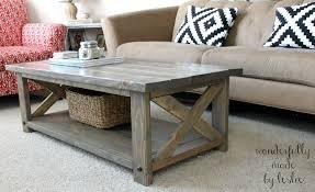 Industrial Wood Coffee Table by Furniture Diy Coffee Table Ideas Brown Rectangle Industrial