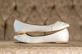 wedding shoes size 11 wedding flats ivory wedding shoes wedding ballet flats ivory
