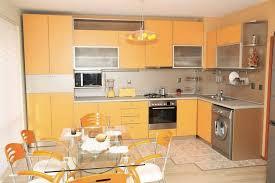 cuisine couleur orange cuisine orange pas cher sur cuisine lareduc com