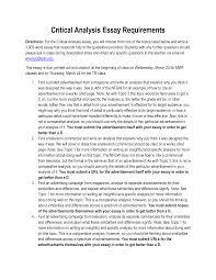 Esl Essay Examples Popular Mba Critical Essay Samples Idr Group