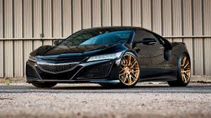 Acura Nsx Black Does The Honda Nsx Suit Gold Wheels Top Gear