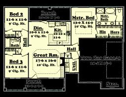 10 x 10 square feet 1500 sq ft ranch house plans elegant ranch style house plans under